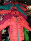 Коралловая демисезонная  курточка   для девочек от 1 до 4 лет, фото 10