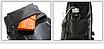 Рюкзак мужской кожзам городской Men's USB выход черный, фото 8