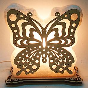 Соляной светильник Бабочка 1