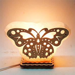 Соляной светильник Бабочка маленькая
