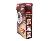 Фильтры для кофеварок в коробке, размер № 4, 100 шт