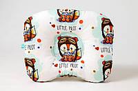 Детская ортопедическая подушка   Лисенок пилот 22 х 26, фото 1