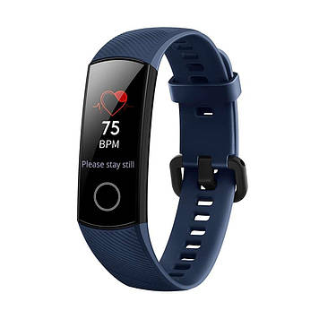 Huawei Honor band 4 , фитнес браслет. смарт часы, фитнес трекер, конкурент для  Xiaomi Mi band 2, 3 Синий