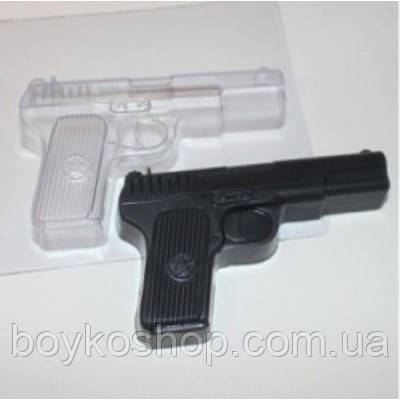 Форма пластиковая Пистолет