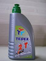 Двухтактне  масло. півсинтетика .TEDEX 2T Power (1л)