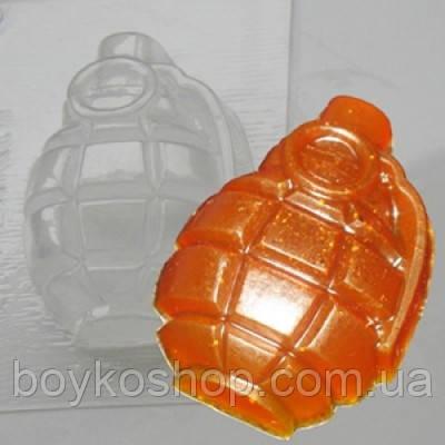 Форма для мыла граната
