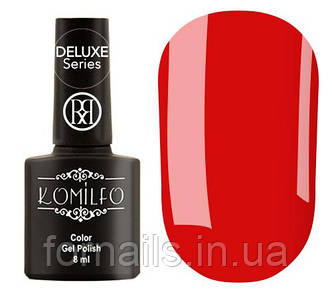 Гель-лак Komilfo Rior Collection №001 (классический красный, эмаль), 8 мл