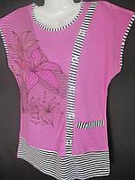 Недорогие женские футболки-великаны на лето., фото 1