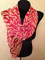 Молодежный легкий шарф(Углы по косой) (цв 2)