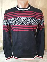 Чоловічий тоненький чорний светр Falcon & Rock молодіжна модель