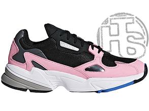 Женские кроссовки Adidas Falcon Core Black/Light Pink B28126