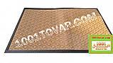 Придверні килимок решіток ворсистий з гумовим кантом 120х80 див., фото 5