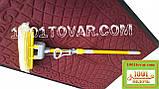 Придверні килимок решіток ворсистий з гумовим кантом 120х80 див., фото 7