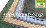 Придверні килимок решіток ворсистий з гумовим кантом 120х80 див., фото 2