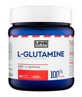Глютамин L-Glutamine Pure UNS200г