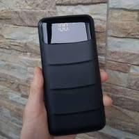 Павер Банк внешний аккумулятор UKC Z-081 80 000 mAh с дисплеем заряда и фонариком