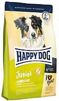 HAPPY DOG  Junior Lamb & Rice корм для щенков с ягненком, 1 кг