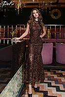 Женское длинное платье ДГд41217, фото 1