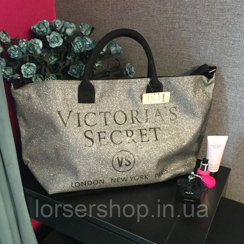 ccc6d127eae1 Сумка пляжная Victoria's Secret серебристая : продажа, цена в Киеве ...