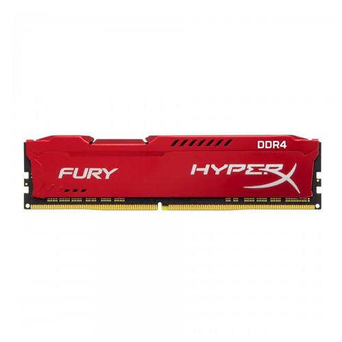Оперативная память Kingston DDR4 16GB 2666MHz HyperX Fury Red (HX426C16FR/16)