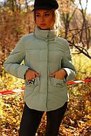 Женская демисезонная короткая куртка Рикель р-ры 42 - 54, ТМ Nui Very, Украина