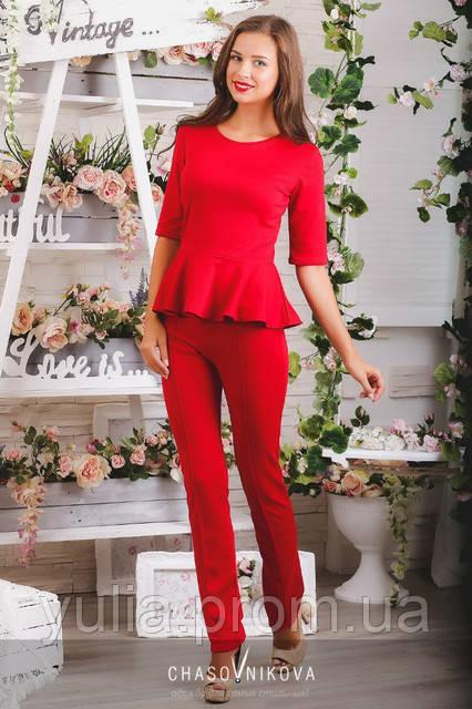 e1163ac6242e Женский костюм Дебора красный  продажа, цена в Одессе. от
