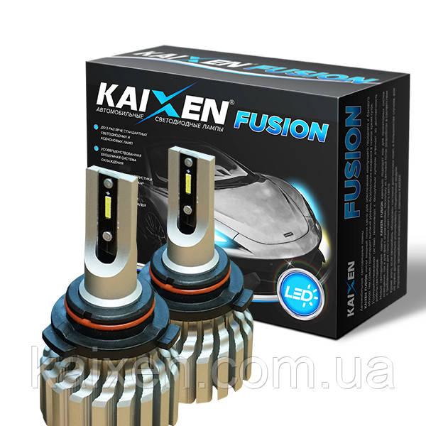 Светодиодные лампы HB4 9006 6000K Kaixen Fusion FOG дляпротивотуманных фонарей