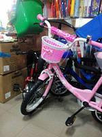 Детская корзина на руль велосипеда