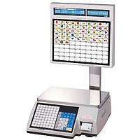 Весы с чекопечатью CAS CL5000J-IS для супермаркетов