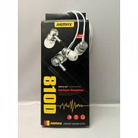 Наушники вакуумные Remax RM-810D с микрофоном Mega Bass