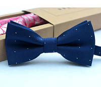Бабочка галстук мужская темно-синяя