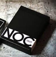 Карты игральные Noc Out Black