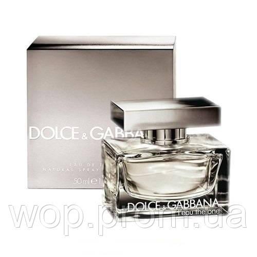 Женская туалетная вода  Dolce&Gabbana  L`eau The One 75 ml - WOP (world of pefumes and cosmetics)  в Киеве