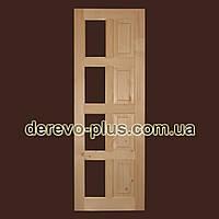 Двері з масиву дерева 70см (під скло) s_05704