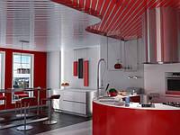 Алюминиевый реечный потолок Сумы