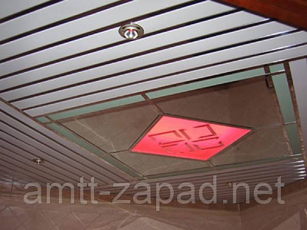 Алюминиевый реечный потолок Запорожье