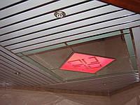 Алюминиевый реечный потолок Запорожье, фото 1