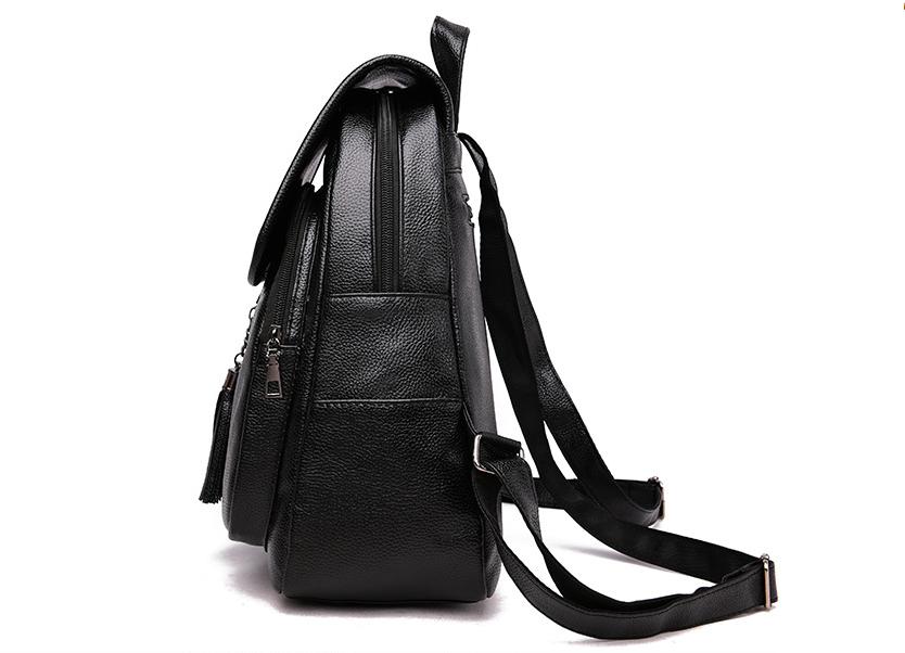 1d63e64816fa Рюкзак женский кожзам Balina c кисточками черный: продажа, цена в ...