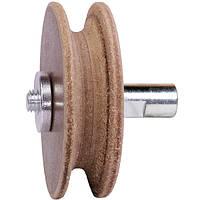 Кожаный круг для заточки полукруглых стамесок WorkMan 708028