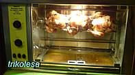 Гриль для кур электрический на 4 курицы