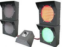 Светофоры для регулирования транспортного потока на автомобильных весах