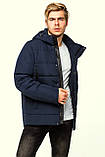 Стильна коротка чоловіча зимова куртка KTL 307, фото 6