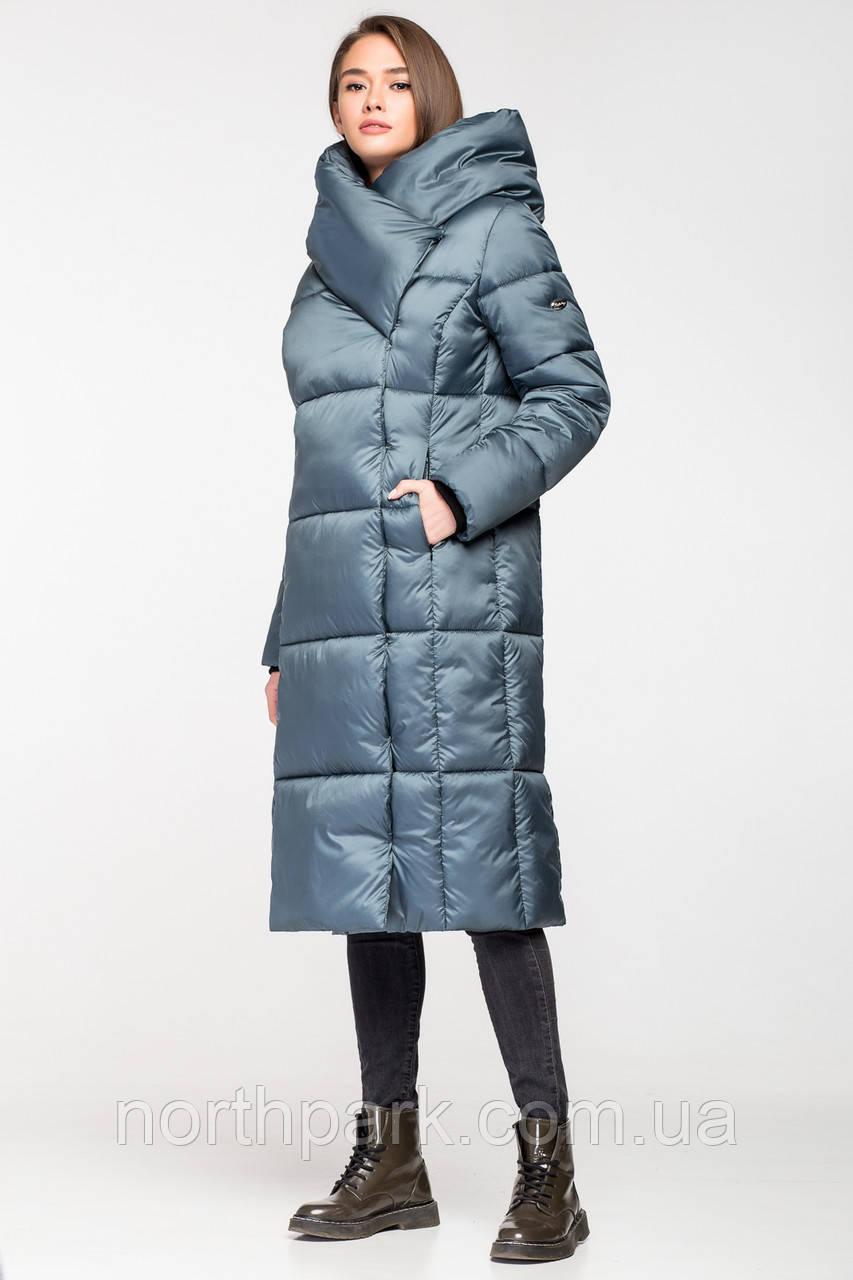 Довга зимова куртка KTL з об ємним коміром 93f4ff6b6e3c4