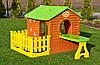 Детский домик с террасой и столиком Mochtoys, фото 5