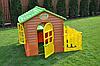 Детский домик с террасой и столиком Mochtoys, фото 3