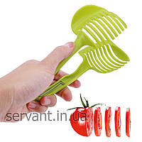 Слайсер держатель для нарезки томатов Tomato Slicer