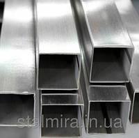 Квадратные трубы из зеркальной нержавеющей стали, AISI 304, 04Х18Н9, 12Х18Н10Т, ГОСТ 8639-82