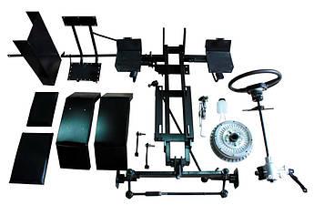 Комплект для переоборудования мотоблока в мототрактор №1 (гидравлическая тормозная система) (КТ2) | КІТ набір №1 (довгий)