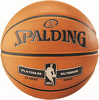 Мяч баскетбольный Spalding NBA Platinum Outdoor Size 7