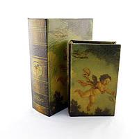 Набір скриньок з велюровою обшивкою Ангел